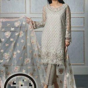 Dresses & Skirts - Heavy embroidered Pakistani fancy shalwar kameez